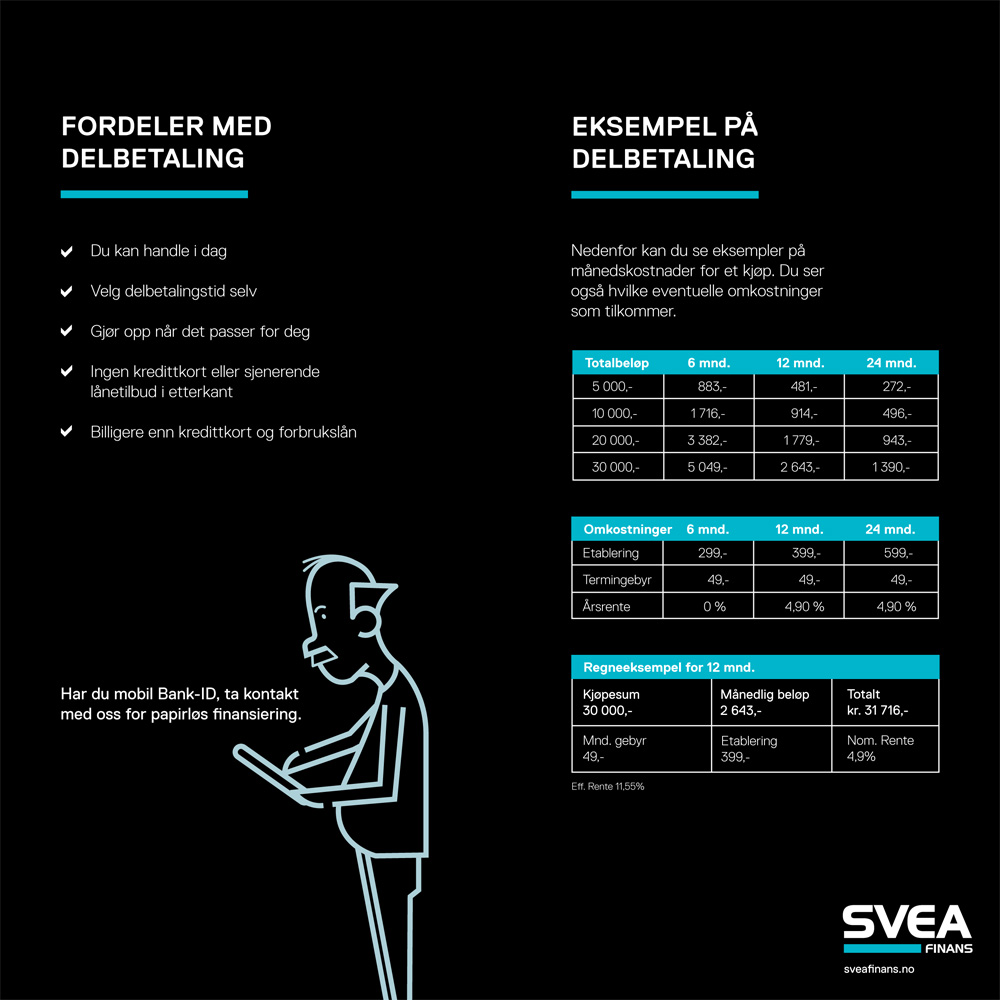 Svea-Finans-Delbetaling